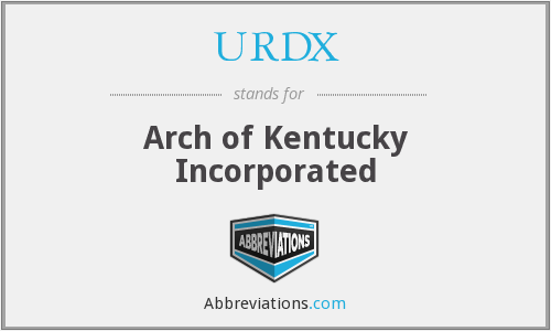 What does URDX stand for?