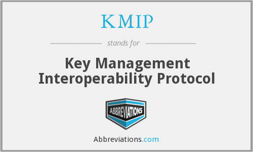 What does KMIP stand for?