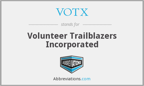 What does VOTX stand for?