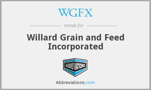 What does WGFX stand for?