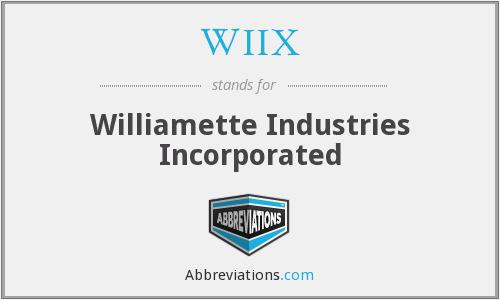 What does WIIX stand for?