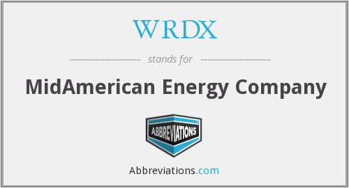 What does WRDX stand for?