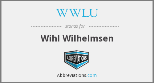 What does WWLU stand for?