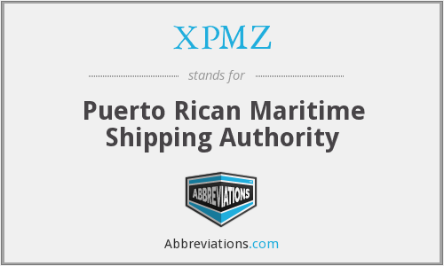 What does XPMZ stand for?