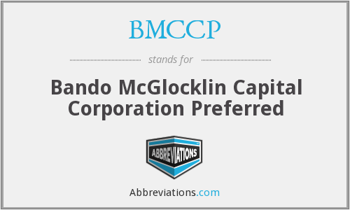 What does BMCCP stand for?