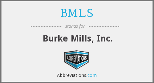 What does BMLS stand for?