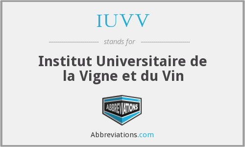 What does IUVV stand for?