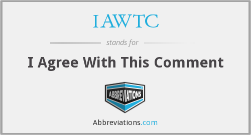 What does IAWTC stand for?