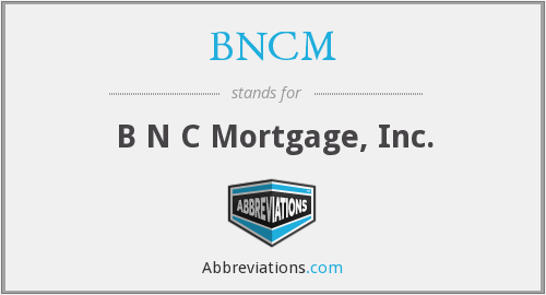 What does BNCM stand for?