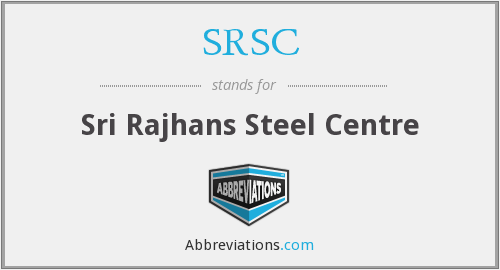 What does SRSC stand for?