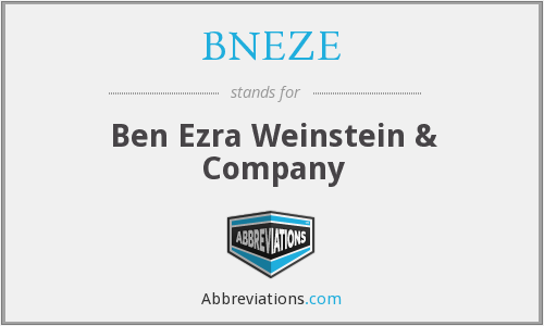 What does BNEZE stand for?