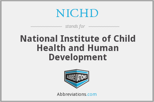 What does NICHD stand for?