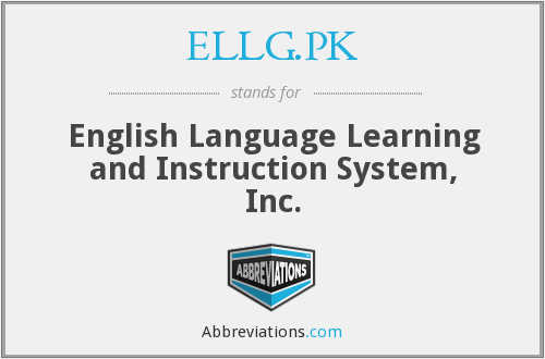 What does ELLG.PK stand for?