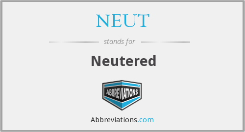 What does NEUT stand for?