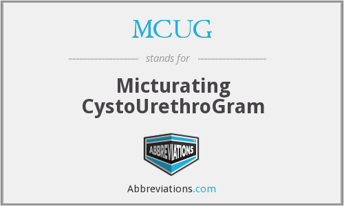 What does MCUG stand for?
