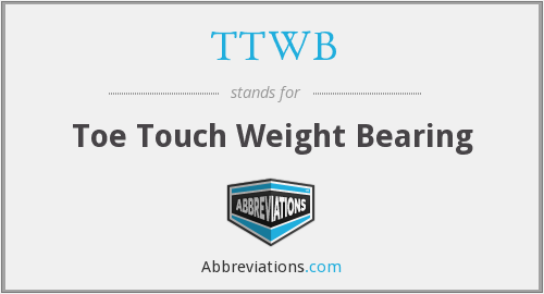 What does TTWB stand for?