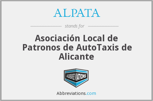 What does ALPATA stand for?
