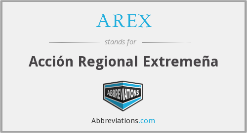 What does AREX stand for?
