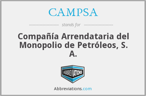 What does CAMPSA stand for?