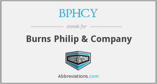 What does BPHCY stand for?