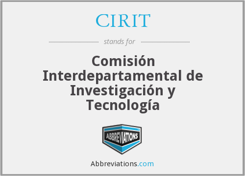 What does CIRIT stand for?