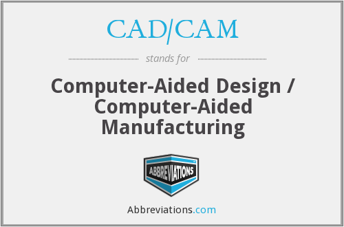 What does CAD/CAM stand for?