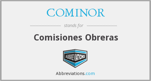 What does COMINOR stand for?