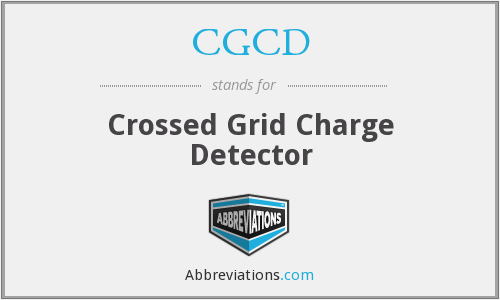 What does CGCD stand for?