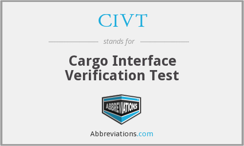 What does CIVT stand for?