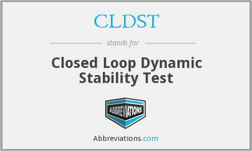 What does CLDST stand for?