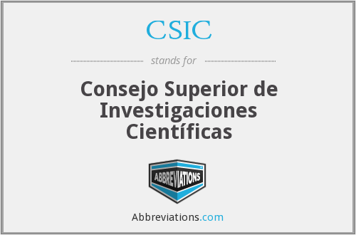 What does CSIC stand for?