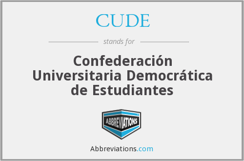 What does CUDE stand for?