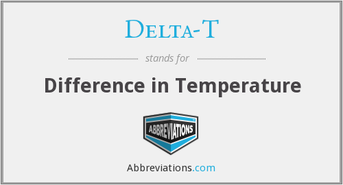 What does DELTA-T stand for?