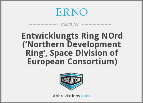 What does ERNO stand for?