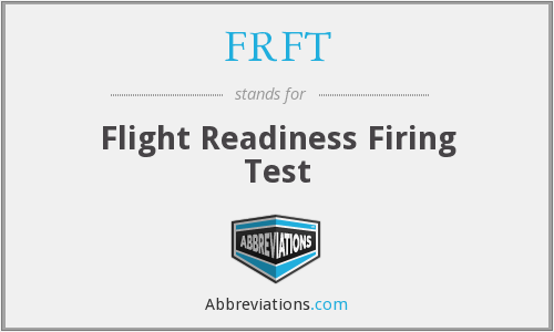 What does FRFT stand for?