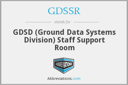 What does GDSSR stand for?