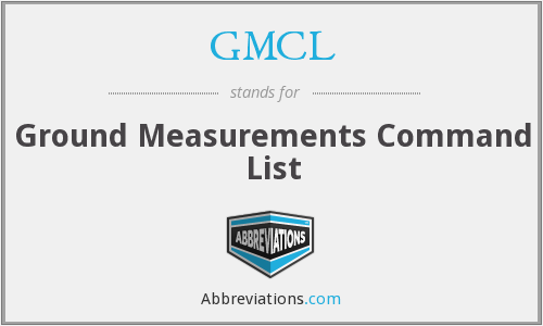 What does GMCL stand for?