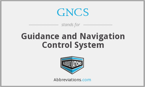 What does GNCS stand for?