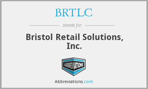 What does BRTLC stand for?
