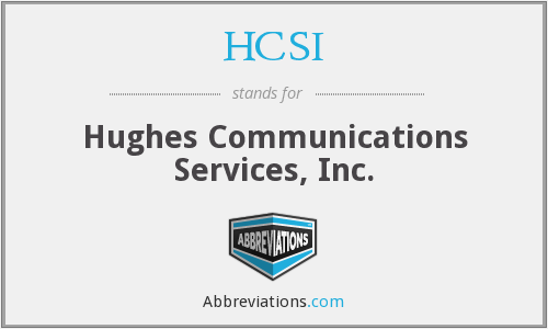 What does HCSI stand for?