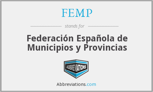What does FEMP stand for?