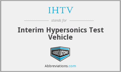 What does IHTV stand for?