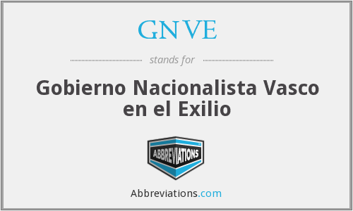 What does GNVE stand for?