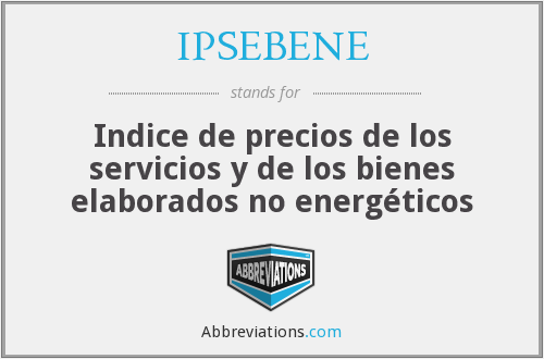 What does IPSEBENE stand for?