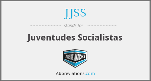 What does JJSS stand for?