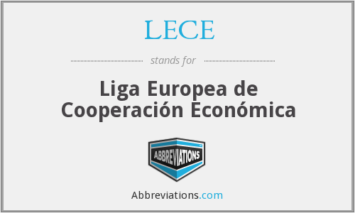 What does LECE stand for?