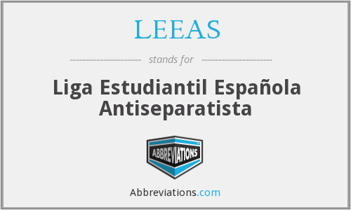 What does LEEAS stand for?
