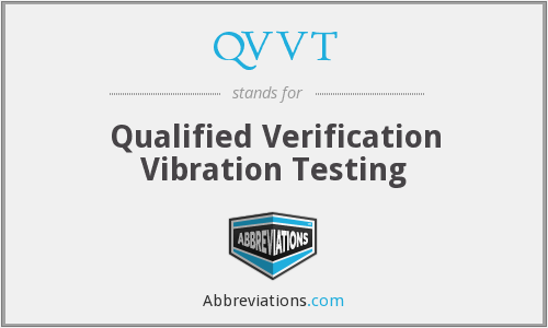 What does QVVT stand for?