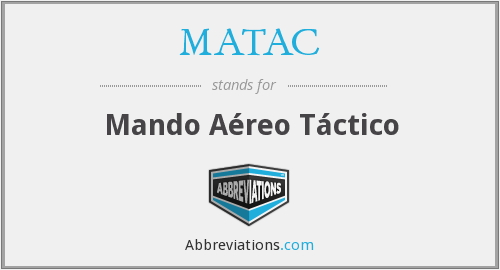 What does MATAC stand for?