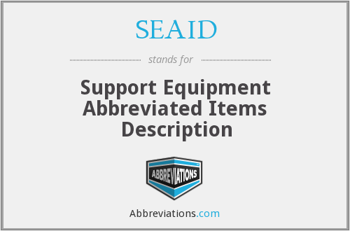 What does SEAID stand for?
